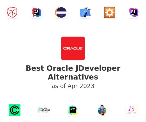 Best Oracle JDeveloper Alternatives