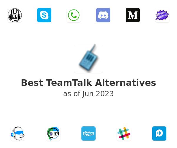 Best TeamTalk Alternatives
