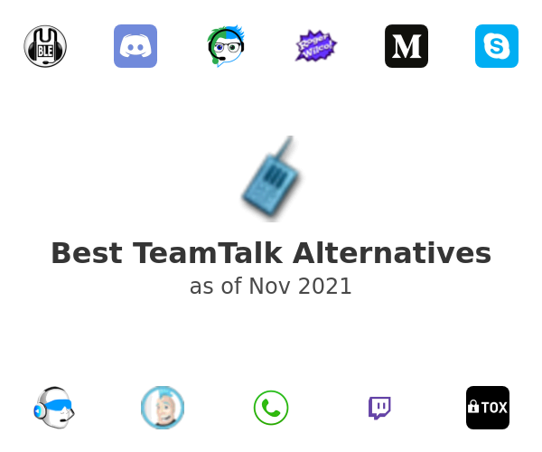 Best TeamTalk Alternatives