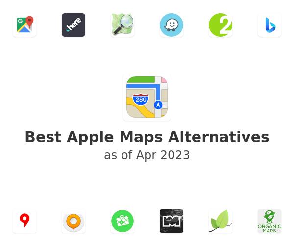 Best Apple Maps Alternatives