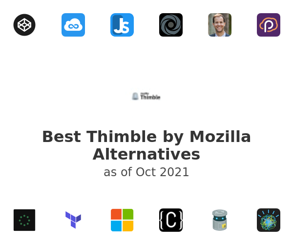 Best Thimble by Mozilla Alternatives