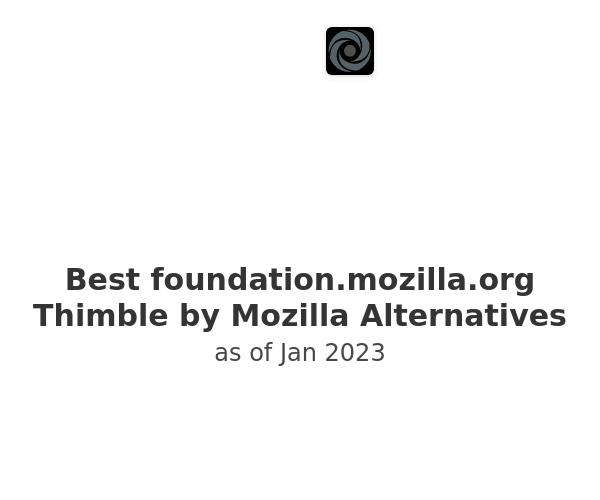 Best Thimble by Mozilla Alternatives