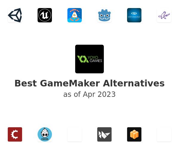 Best GameMaker Alternatives