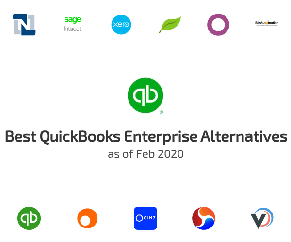 Best QuickBooks Enterprise Alternatives