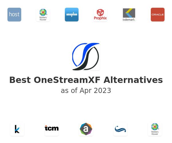 Best OneStreamXF Alternatives