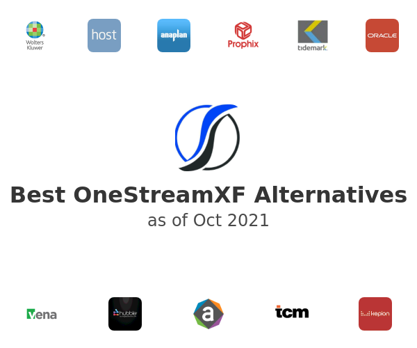 Best OneStreamXF Alternatives