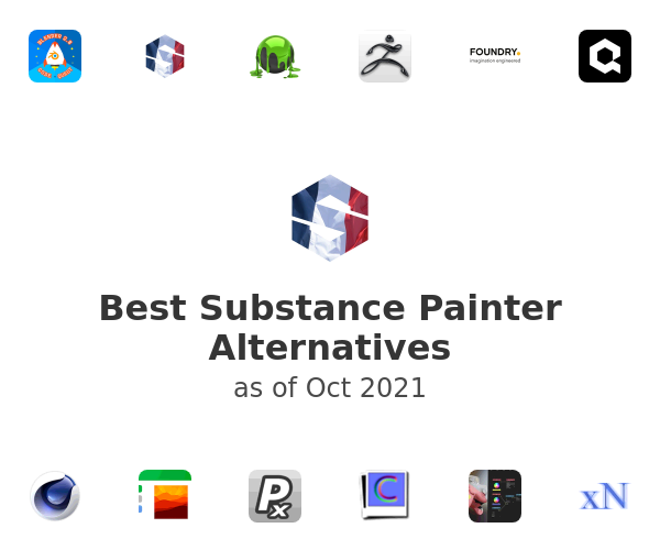 Best Substance Painter Alternatives