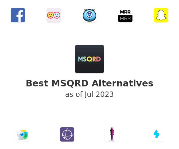 Best MSQRD Alternatives