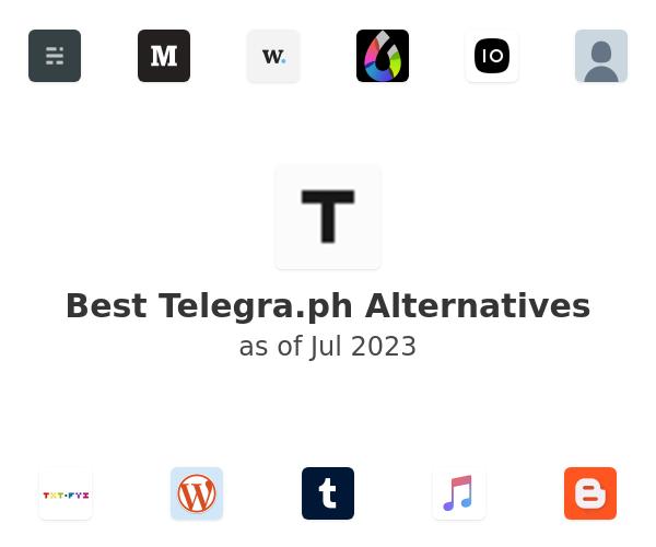 Best Telegra.ph Alternatives
