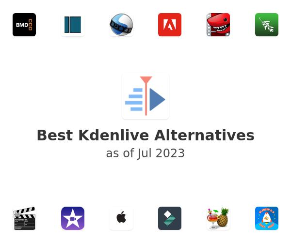 Best Kdenlive Alternatives