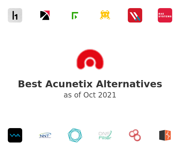 Best Acunetix Alternatives