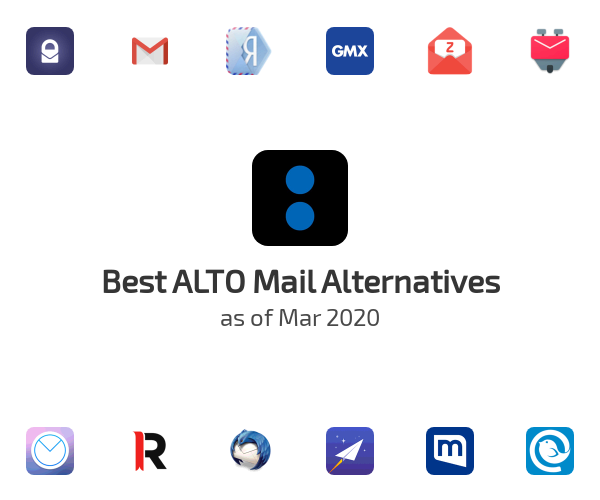 Best ALTO Mail Alternatives