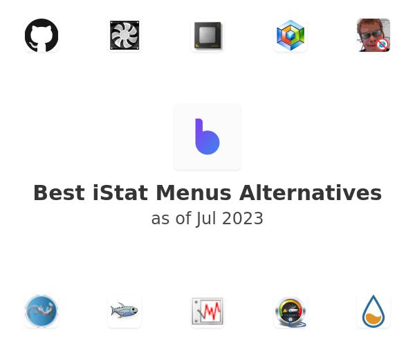 Best iStat Menus Alternatives