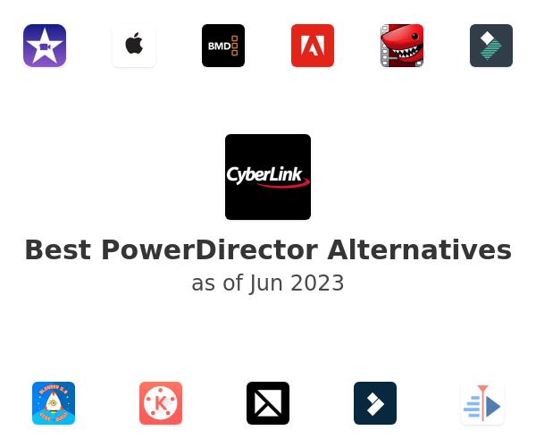 Best PowerDirector Alternatives