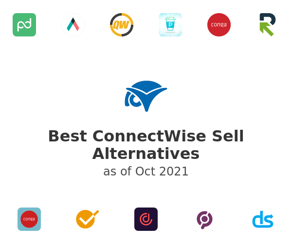 Best ConnectWise Sell Alternatives