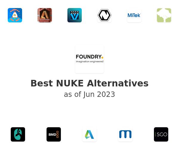 Best NUKE Alternatives