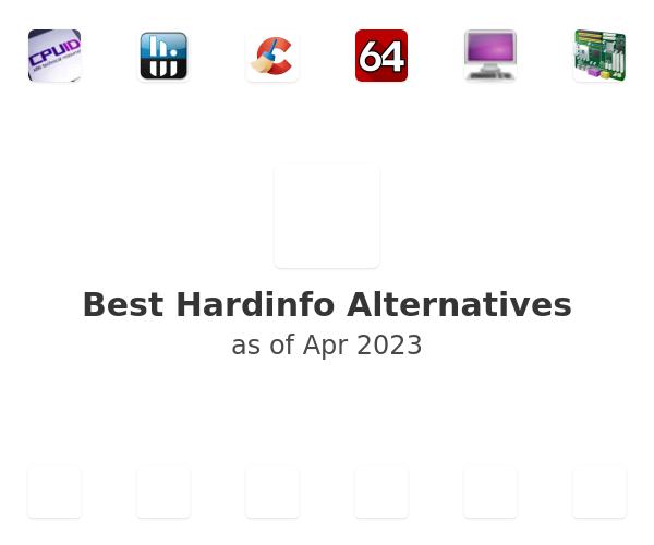 Best Hardinfo Alternatives