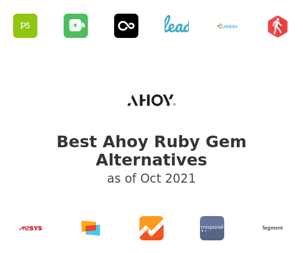 Best Ahoy Ruby Gem Alternatives