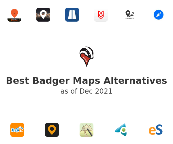 Best Badger Maps Alternatives