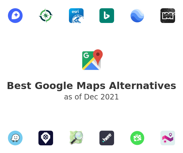 Best Google Maps Alternatives