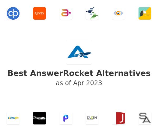 Best AnswerRocket Alternatives
