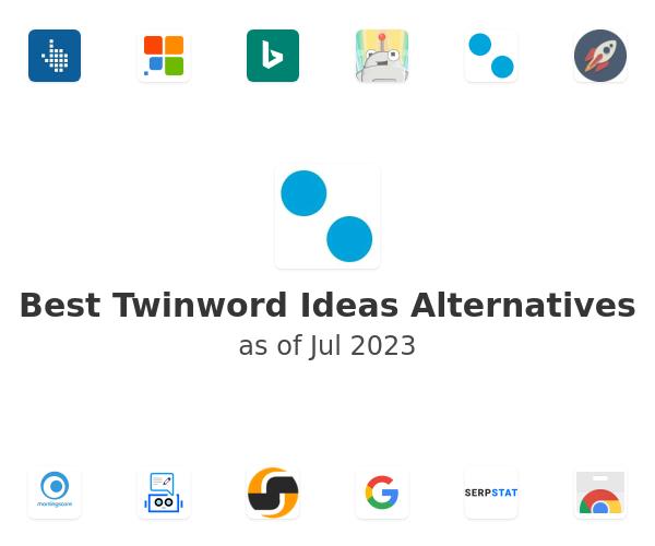 Best Twinword Ideas Alternatives