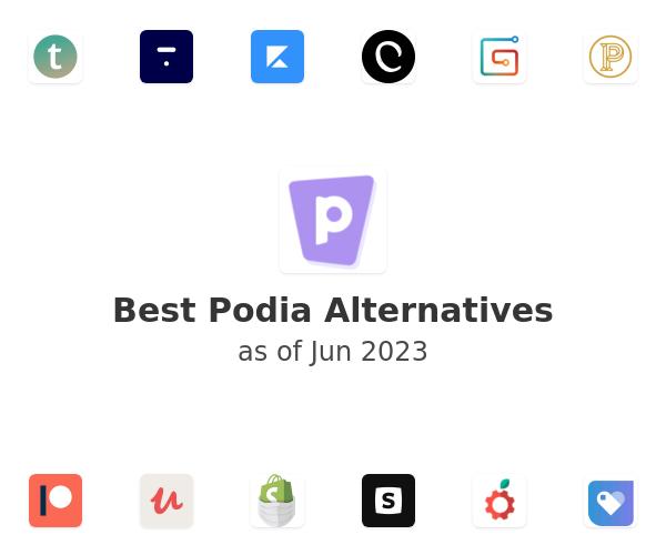 Best Podia Alternatives