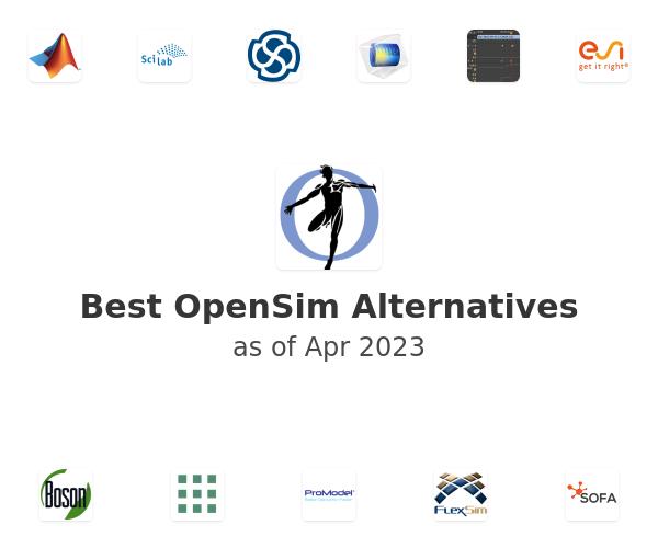 Best OpenSim Alternatives
