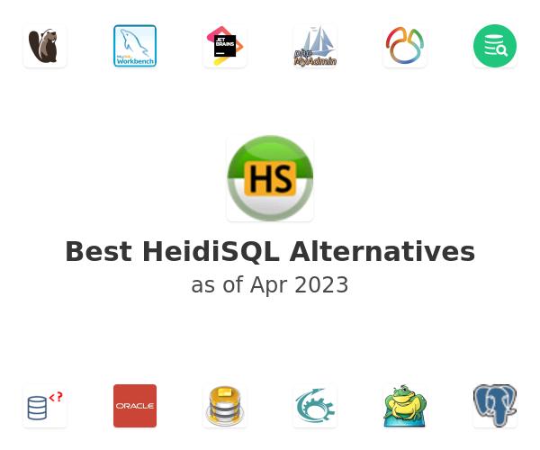 Best HeidiSQL Alternatives