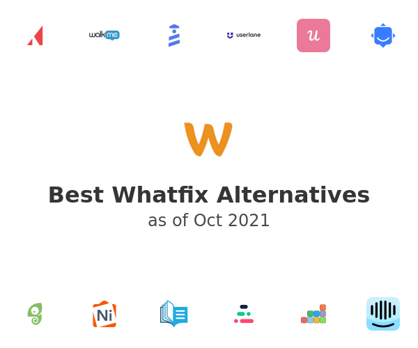 Best Whatfix Alternatives