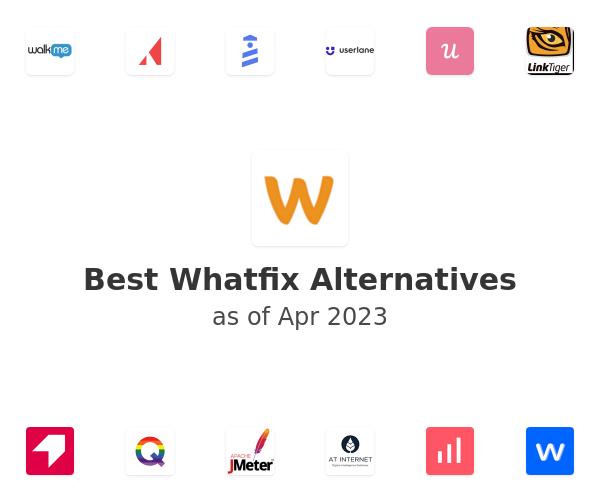 Best Whatfix Alternatives