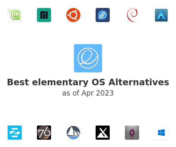 Best elementary OS Alternatives