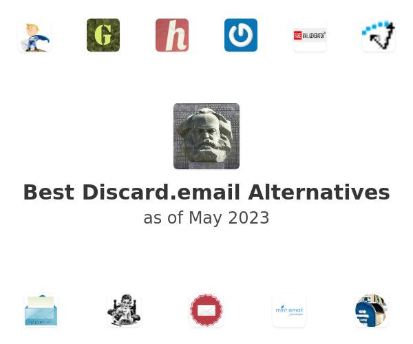 Best Discard.email Alternatives