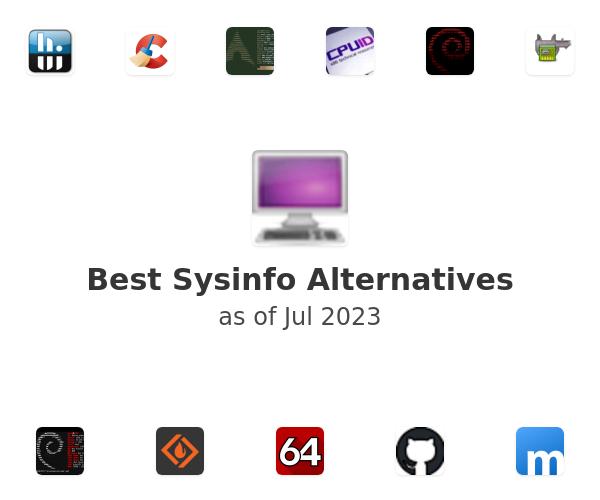Best Sysinfo Alternatives