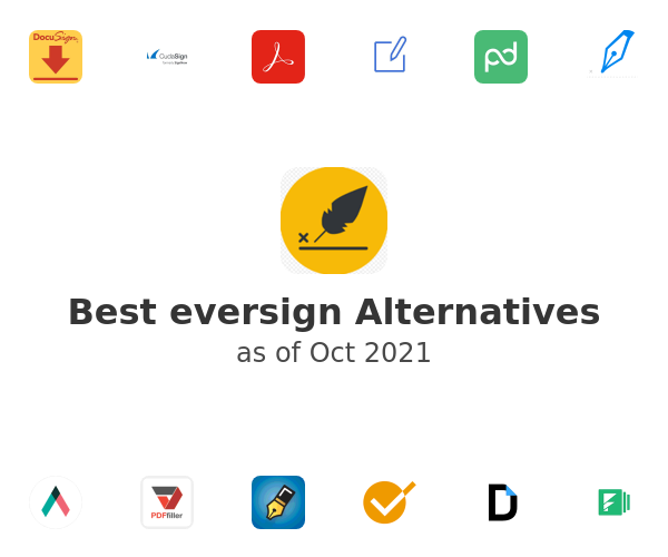 Best eversign Alternatives