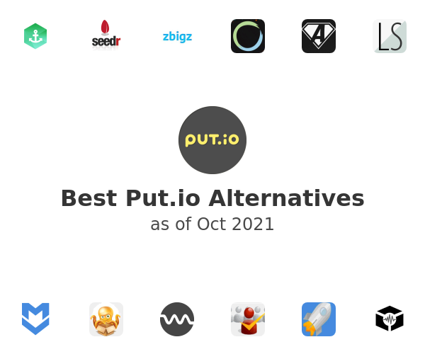Best Put.io Alternatives
