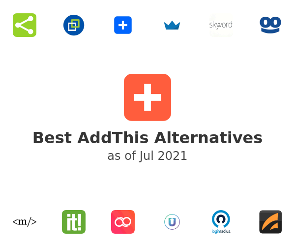 Best AddThis Alternatives