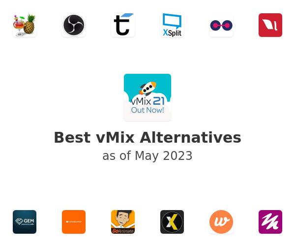 Best vMix Alternatives