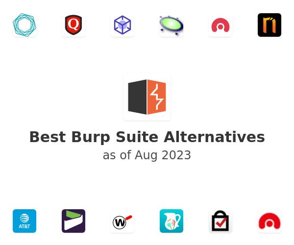 Best Burp Suite Alternatives