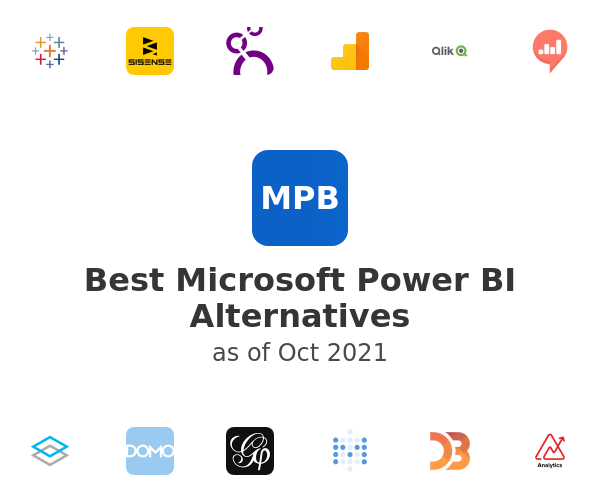 Best Microsoft Power BI Alternatives