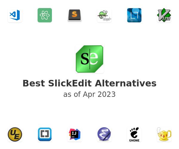 Best SlickEdit Alternatives