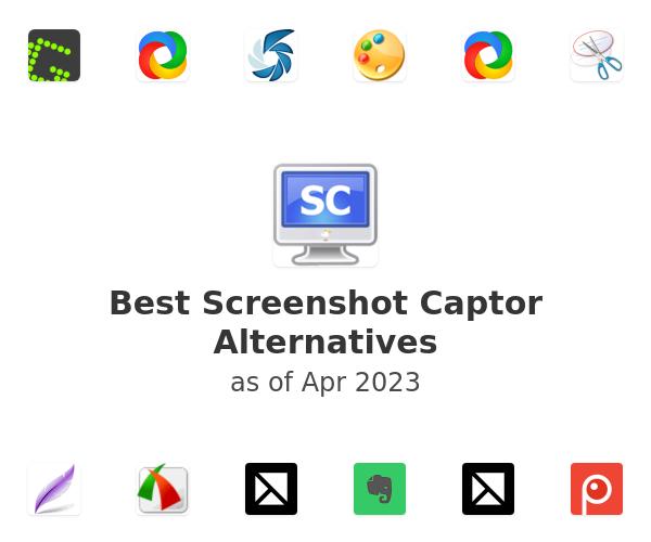 Best Screenshot Captor Alternatives
