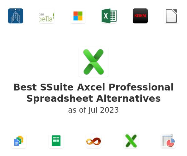 Best SSuite Axcel Professional Spreadsheet Alternatives