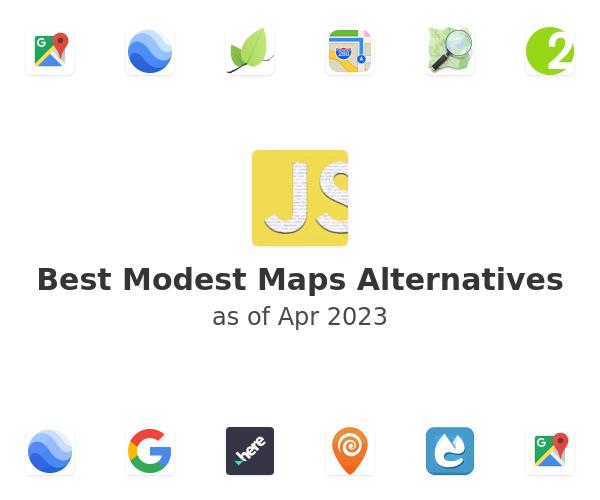 Best Modest Maps Alternatives