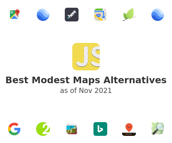 Best Modest Maps Alternatives