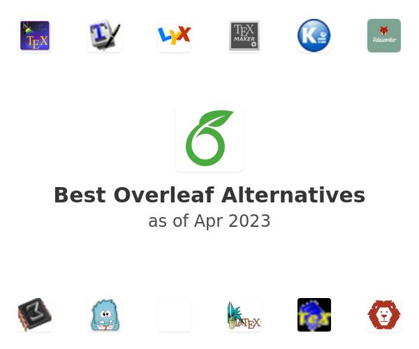 Best Overleaf Alternatives