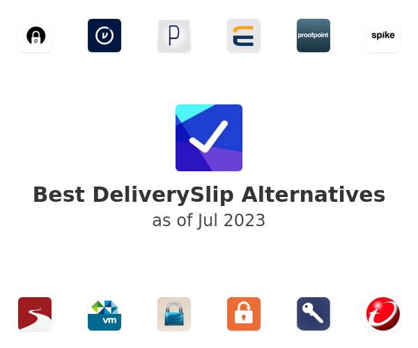 Best DeliverySlip Alternatives