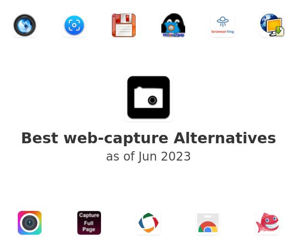 Best web-capture Alternatives