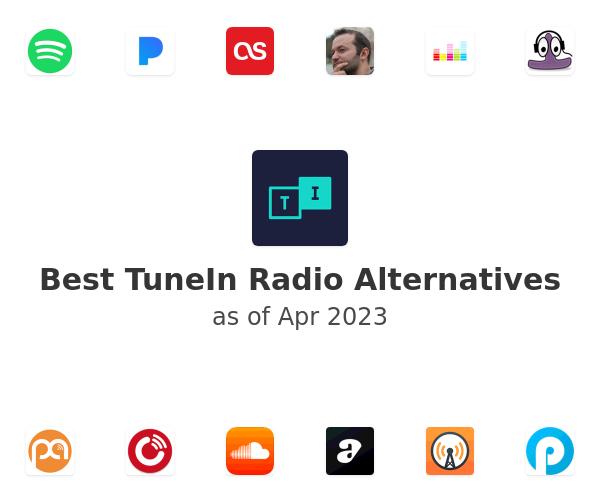 Best TuneIn Radio Alternatives