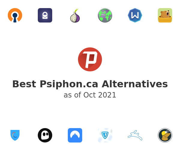 Best Psiphon Alternatives